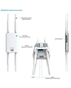 ENS620 EXT | EnGenius Wave 2 Outdoor Dual-Band Wireless Access Point